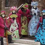 Venise 2014 Christian, Manon, Christine, Nathalie Stéphanie